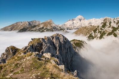 pictures of Triglav National Park - Mt Viševnik (2050m)