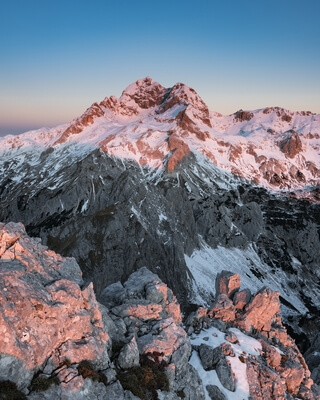 images of Triglav National Park - Mt Tosc (2275m)