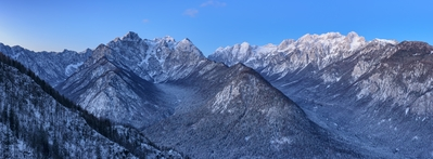 images of Triglav National Park - Julian Alps from Jerebikovec
