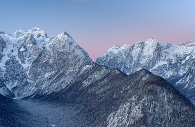 photo spots in Triglav National Park - Julian Alps from Jerebikovec
