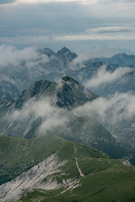 images of Triglav National Park - Mt Rodica (1966m)