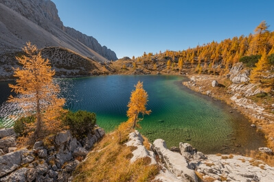pictures of Triglav National Park - Jezero Ledvička (Kidney Lake)