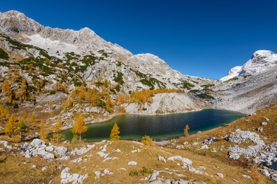 Triglav National Park photography spots - Jezero Ledvička (Kidney Lake)