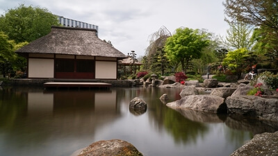 instagram spots in Hamburg - Japanese Garden and Teahouse