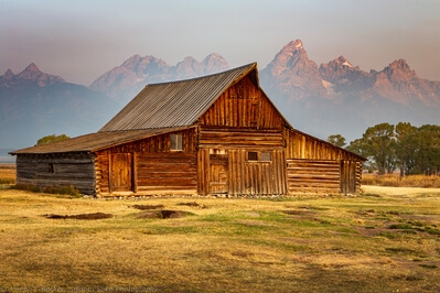 images of Grand Teton National Park - T.A. Moulton Barn