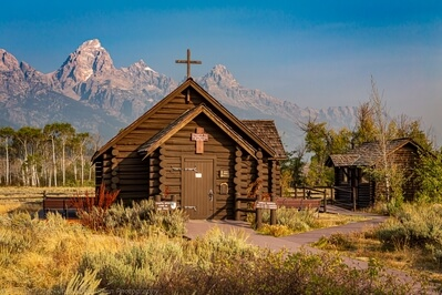 photos of Grand Teton National Park - Chapel of the Transfiguration