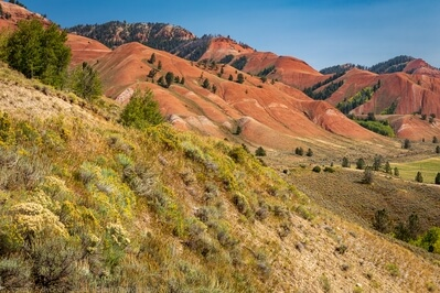 images of Grand Teton National Park - Gros Ventre Red Hills