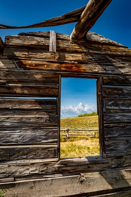 pictures of Grand Teton National Park - Shane Cabin