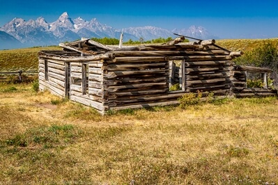 photography spots in Kane County - Shane Cabin