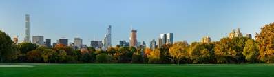 New York photo locations - North Meadow Central Park view of Manhattan