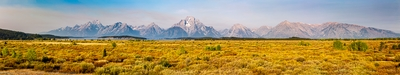 images of Grand Teton National Park - Willow Flats Overlook