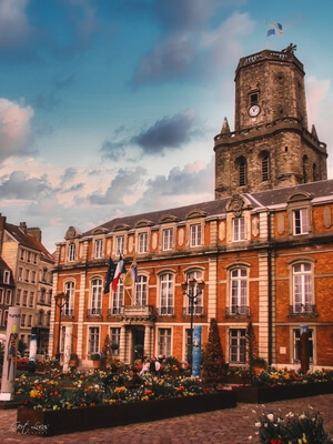 Hauts De France instagram spots - City Hall and Belfry
