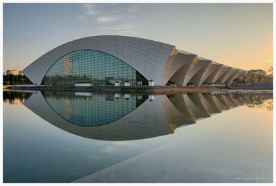 China photography locations - Shanghai Oriental Sports Center