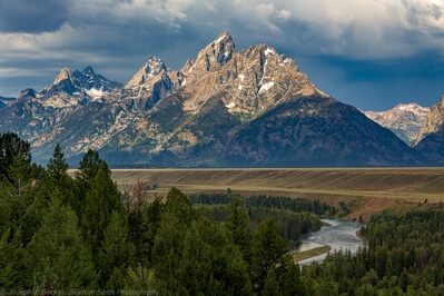 images of Grand Teton National Park - Snake River Overlook