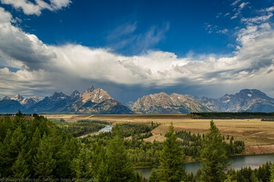 pictures of Grand Teton National Park - Snake River Overlook