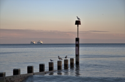 pictures of Dorset -   Boscombe Pier