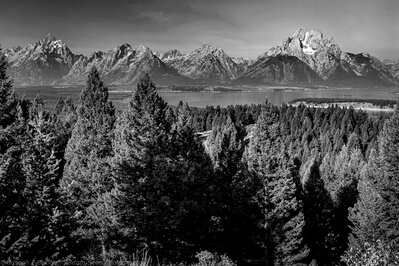 images of Grand Teton National Park - Signal Mountian - Jackson Lake Overlook