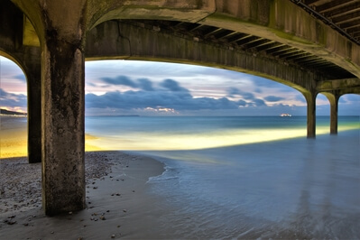 photos of Dorset -   Boscombe Pier