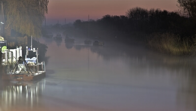 images of Dorset - River Frome at Wareham