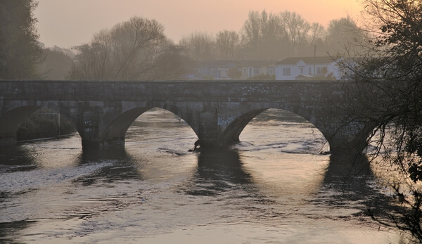 Iford bridge from other side