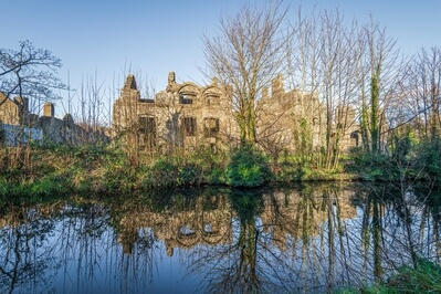 pictures of South Wales - Neath Abbey - Exterior