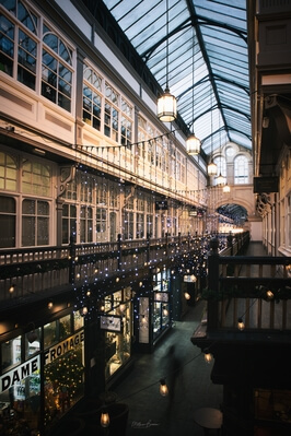 South Wales photography locations - Castle Arcade