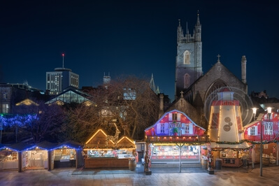 images of South Wales - Cardiff Christmas Market