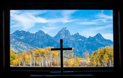 pictures of Grand Teton National Park - Chapel of the Transfiguration