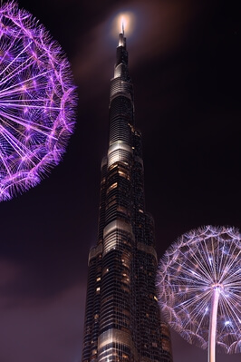 Dubai photo spots - Burj Khalifa view from Burj park