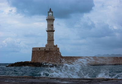 Old Venetian Harbour - Lighthouse