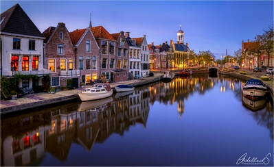 photo locations in Netherlands - Dokkum centre of town