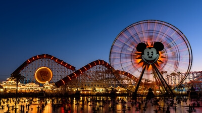 California instagram spots - Pixar Pier - California Adventure, Disney