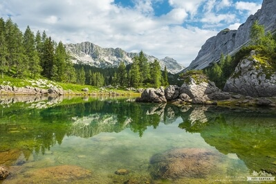 pictures of Triglav National Park - Dvojno Jezero (Double Lake)