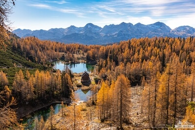 images of Triglav National Park - Dvojno Jezero (Double Lake)