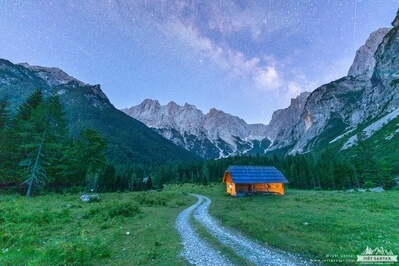 photo locations in Triglav National Park - Krnica Valley
