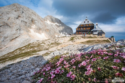 photography locations in Triglav National Park - Kredarica Mountain Hut