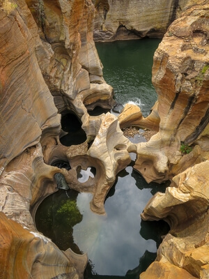 South Africa photo locations - Bourke's Luck Potholes, Panorama Route