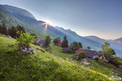 pictures of Triglav National Park - Planina Zaslap
