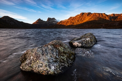 Photographer's Rocks, Dove Lake