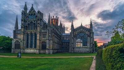 Ely Cathedral - East Lawn