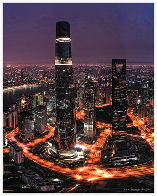 Shanghai photography locations - View of Shanghai Tower