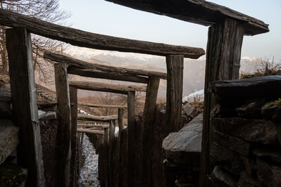 photography spots in Soča River Valley - WWI Trenches at Mt Kolovrat