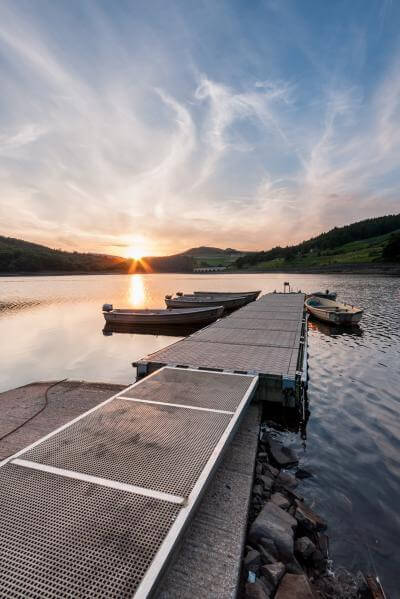 England photography spots - Ladybower Jetty