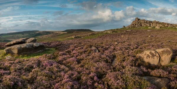 Over Owler Tor Panoramic