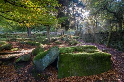 instagram locations in Derbyshire - Padley Gorge