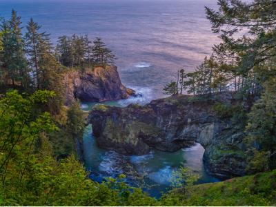Oregon Coast photo spots - Natural Bridges