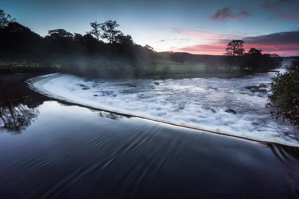 Chatsworth Weir Sunrise