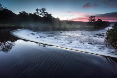 Derbyshire photo spots - Chatsworth Weir