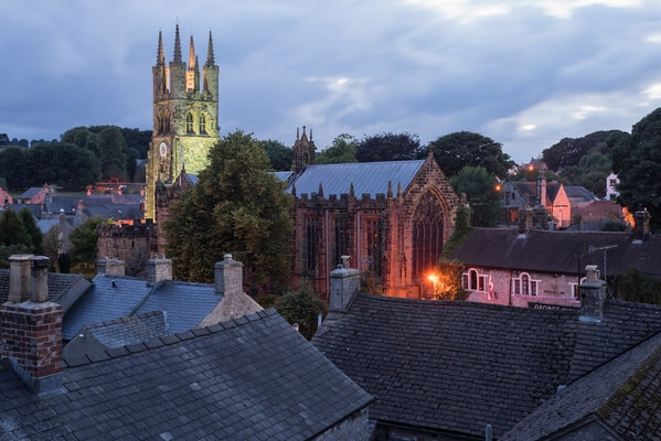 Tideswell Cathedral by Night