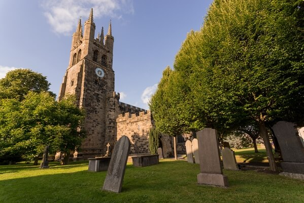 Tideswell Cathedral Wide